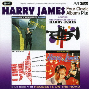ハリー・ジェイムス/JAMES- FOUR CLASSIC ALBUMS PLUS