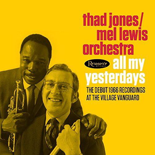 サド・ジョーンズ=メル・ルイス・オーケストラ/オール・マイ・イエスタデイズ 1966デビュー・レコーディングス