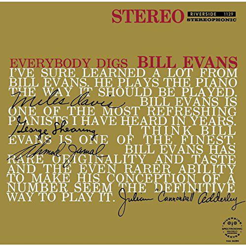 ビル・エヴァンス/エヴリバディ・ディグズ・ビル・エヴァンス+1