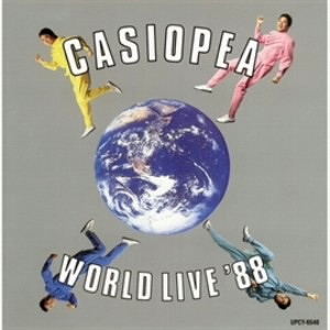 カシオペア/CASIOPEA WORLD LIVE '88