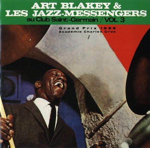 アート・ブレイキー&ザ・ジャズ・メッセンジャーズ/サンジェルマンのジャズ・メッセンジャーズ Vol.3