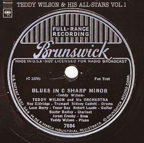 テディ・ウィルソン/テディ・ウィルソン・アンド・ヒズ・オールスターズ Vol.1