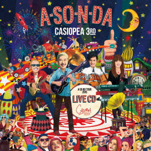 CASIOPEA 3rd/A・SO・N・DA LIVE CD
