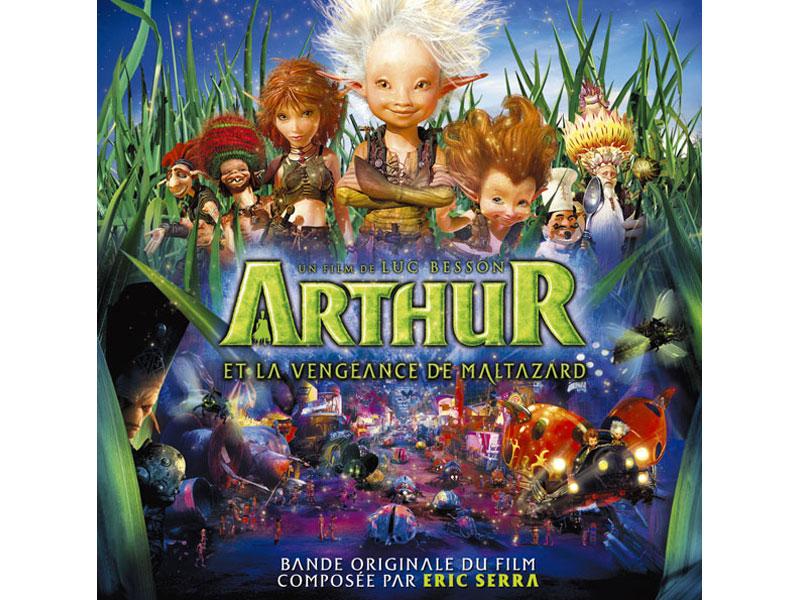 「アーサーと魔王マルタザールの逆襲」オリジナル・サウンドトラック