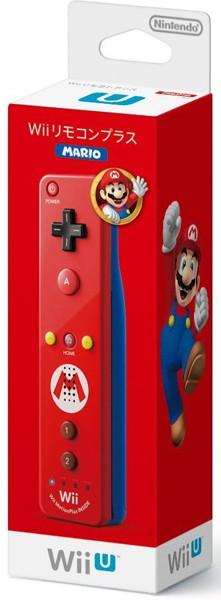Wii リモコンプラス(マリオ)