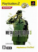 METAL GEAR SOLID 3 SNAKE EATER PlayStation 2 the Best
