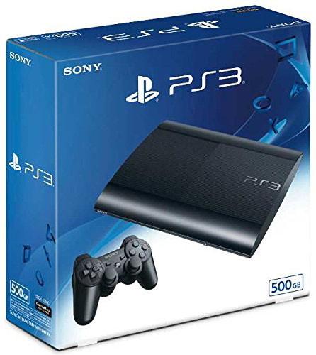 PlayStation3 チャコール・ブラック 500GB