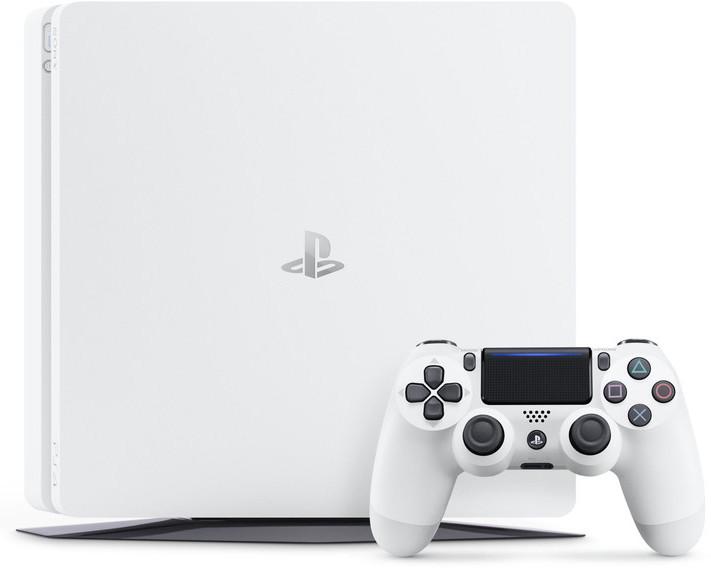 【本体】PlayStation 4 グレイシャー・ホワイト 1TB