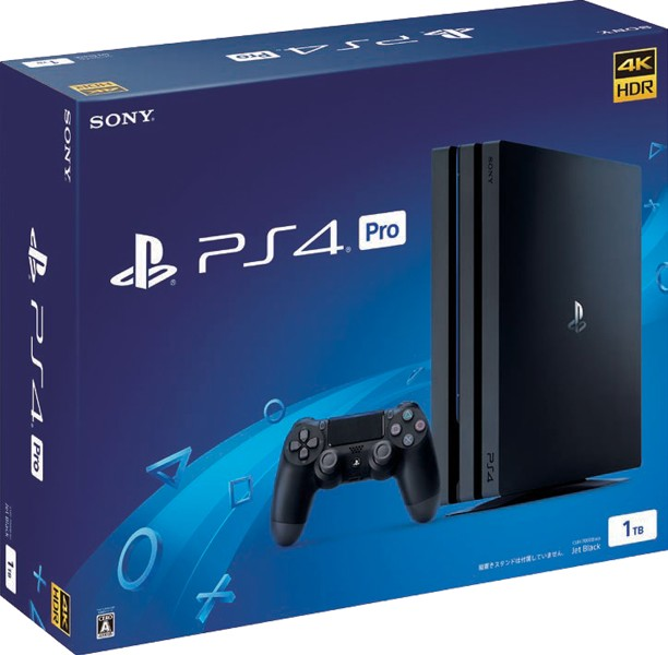 【本体】 PlayStation(R)4 Pro ジェット・ブラック 1TB