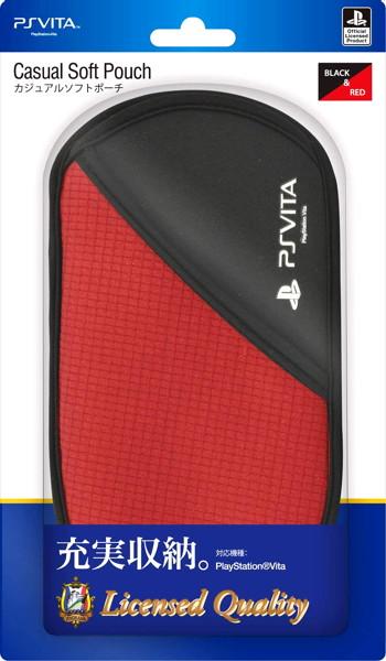 PS Vita用 カジュアルソフトポーチ ブルー