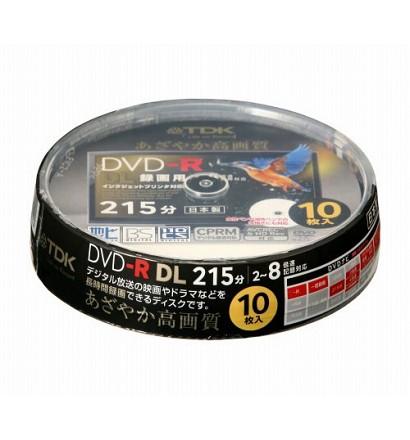 TDK 録画用DVD-R DL 215分