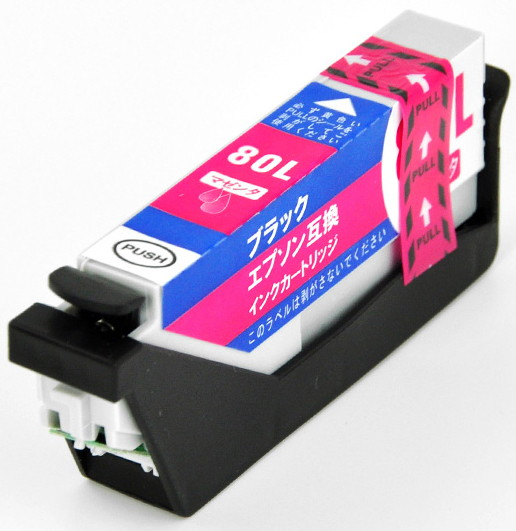 プリンタ用互換インク(マゼンタ)EPSON ICM80
