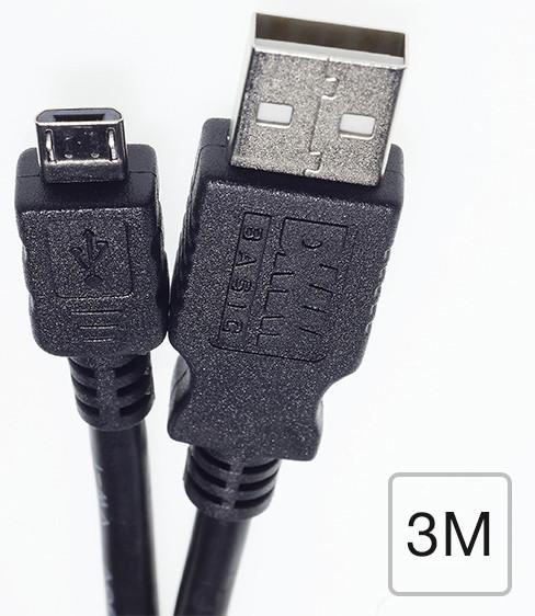 Micro USB ケーブル(3m)データ転送/充電/スマートフォン/Android