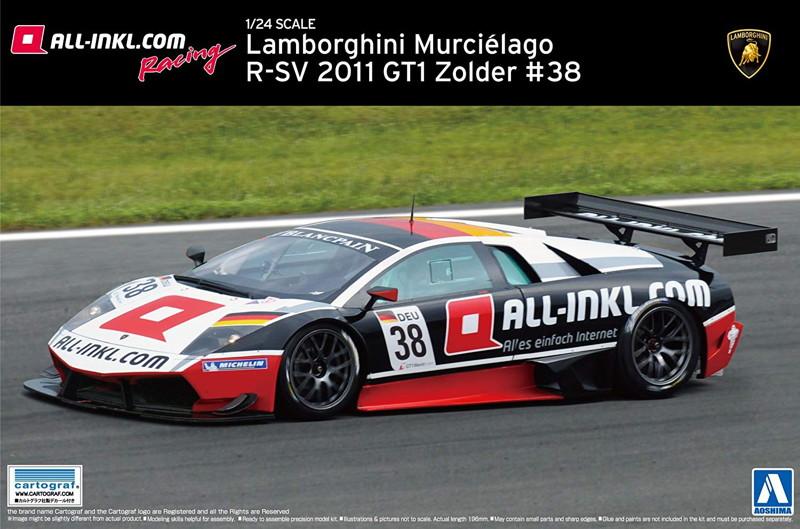 1/24 スーパーカー シリーズ No16 ムルシー R-SV2011 Zolder #38