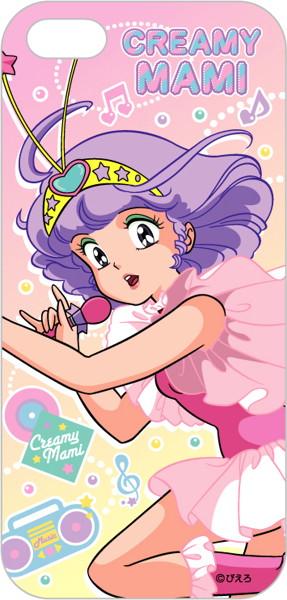 魔法の天使クリィミーマミ iphone5/5sケース ミュージック