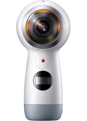 Gear 360(2017)-Galaxy S8/S8+/S7 edge/S6 edge/S6,iPhone 7/7Plus/6s/6s Plus/SE対応全天球カメラ