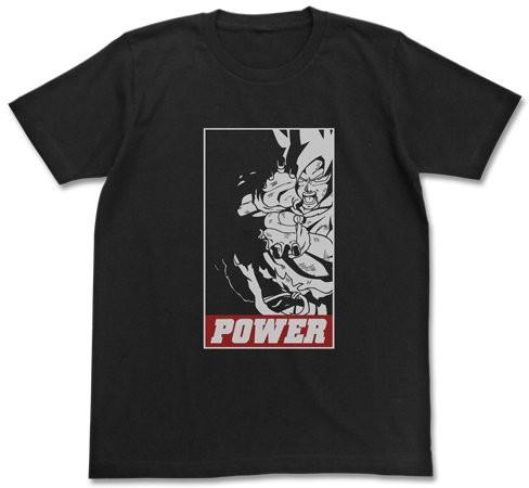 ドラゴンボール POWER Tシャツ/BLACK-S