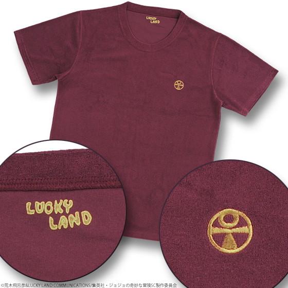 ジョジョの奇妙なパイル地Tシャツ モハメド・アヴドゥルXL