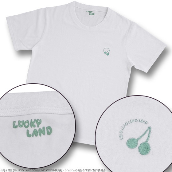 ジョジョの奇妙なパイル地Tシャツ 花京院典明XL