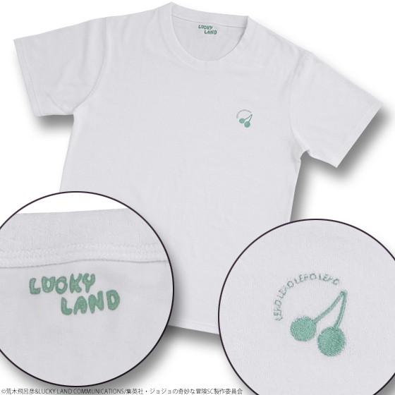 ジョジョの奇妙なパイル地Tシャツ 花京院典明L