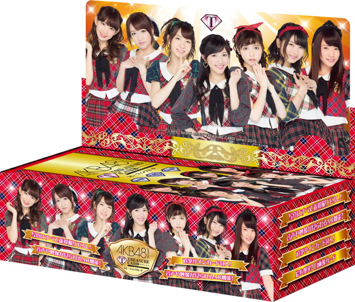 AKB48 official TREASURE CARD 10P BOX【1BOX 10パック入り】