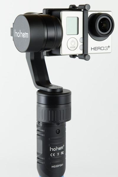 GoProなどアクションカメラ用、3軸360度可動電動スタビライザー HG3-D
