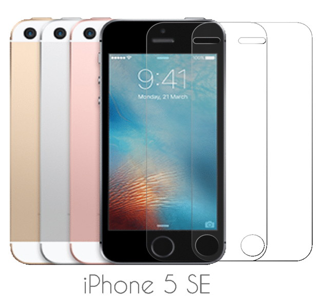 Screen Protector Glass(iPhone SE用)