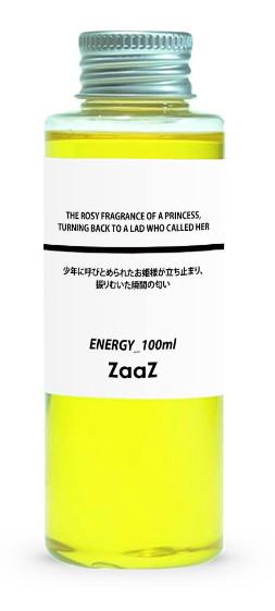 ZaaZ 3_ENERGY_バラの香りがするお姫様の匂い