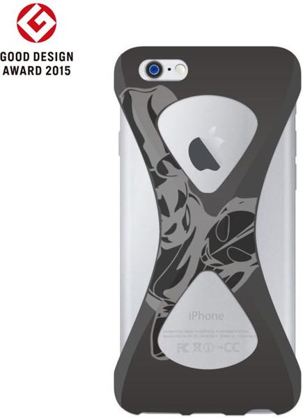 【Original ver.】Palmo(パルモ)× Ultraman(ウルトラマン)for iPhone6/6s (Black)
