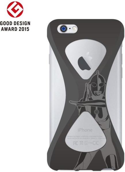 【Spacium ver.】Palmo(パルモ)× Ultraman(ウルトラマン)for iPhone6/6s (Black)