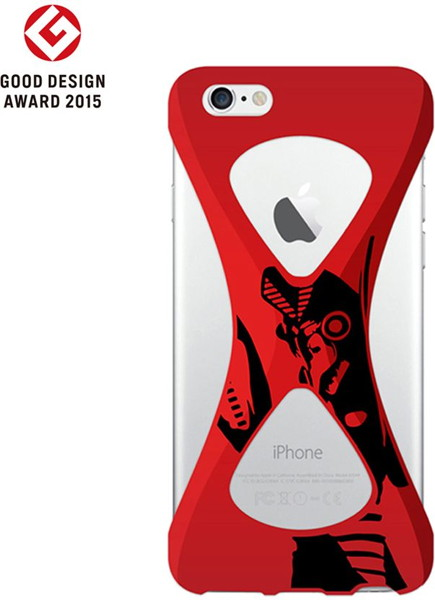 【Baltan ver.】Palmo(パルモ)× Ultraman(ウルトラマン)for iPhone6/6s (Red)