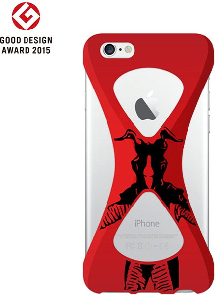 【Zetton ver.】Palmo(パルモ)× Ultraman(ウルトラマン)for iPhone6/6s (Red)
