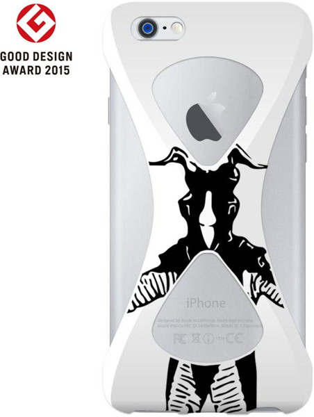 【Zetton ver.】Palmo(パルモ)× Ultraman(ウルトラマン)for iPhone6Plus/6sPlus (White)