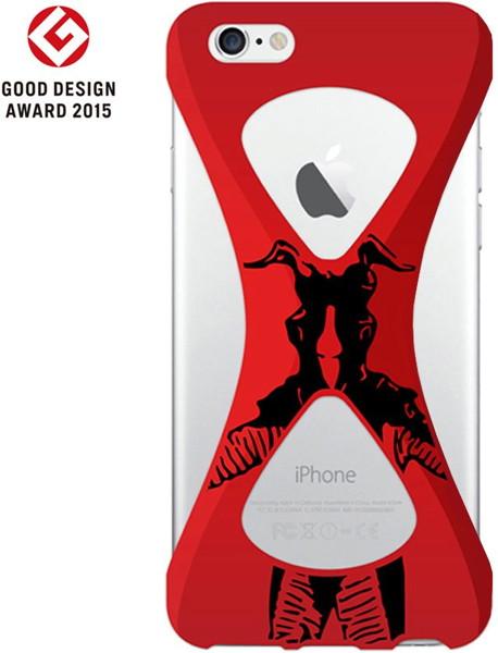 【Zetton ver.】Palmo(パルモ)× Ultraman(ウルトラマン)for iPhone6Plus/6sPlus(Red)
