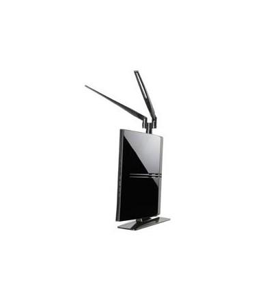 【クリックでお店のこの商品のページへ】ELECOM/無線LANルータ/300Mbps/11n/アンテナ付/プリンタ共有/LAN-WH300N/DR