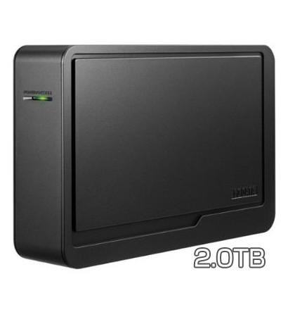 外付型ハードディスク 2TB I-O DATA 東芝レグザ対応USB