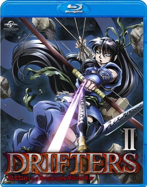 DRIFTERS 第2巻 (ブルーレイディスク)