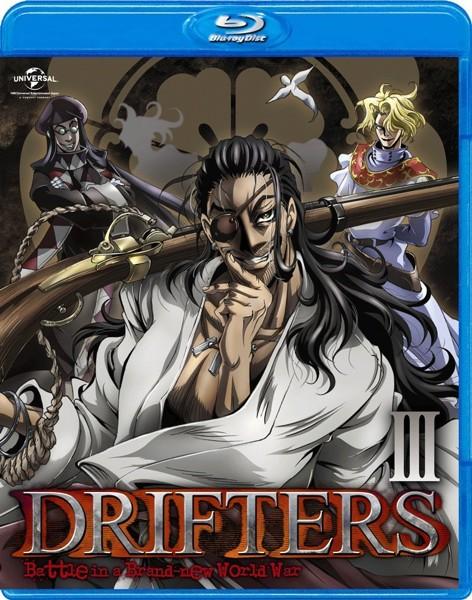 DRIFTERS 第3巻 (ブルーレイディスク)