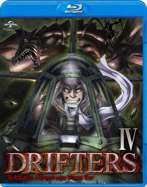 DRIFTERS 第4巻 (ブルーレイディスク)