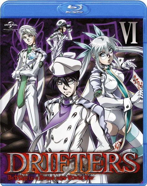 DRIFTERS 第6巻 (ブルーレイディスク)