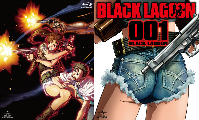 TV BLACK LAGOON Blu-ray001 BLACK LAGOON (ブルーレイディスク)