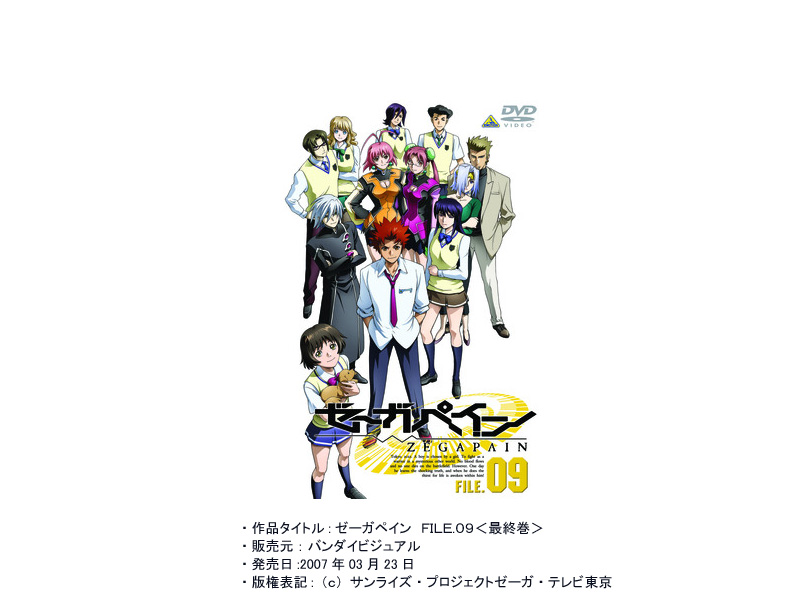 ゼーガペイン FILE.09 (最終巻)