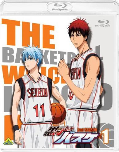 黒子のバスケ 2nd season 1 (ブルーレイディスク)