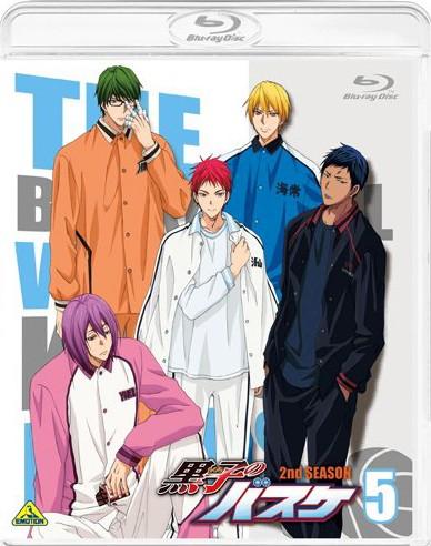 黒子のバスケ 2nd season 5 (ブルーレイディスク)