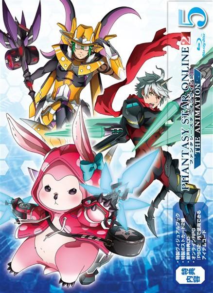 ファンタシースターオンライン2 ジ アニメーション(5)(初回限定版 ブルーレイディスク)
