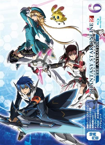 ファンタシースターオンライン2 ジ アニメーション(6)(初回限定版 ブルーレイディスク)