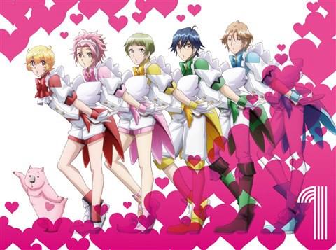 美男高校地球防衛部LOVE!LOVE! 1 (ブルーレイディスク)