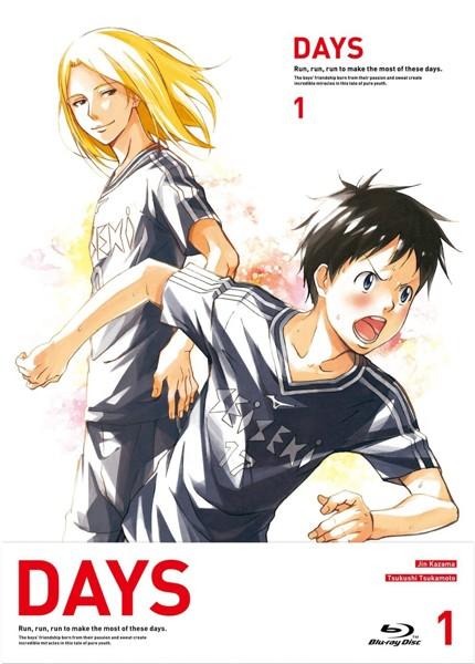 DAYS 第1巻(初回限定盤 ブルーレイディスク)
