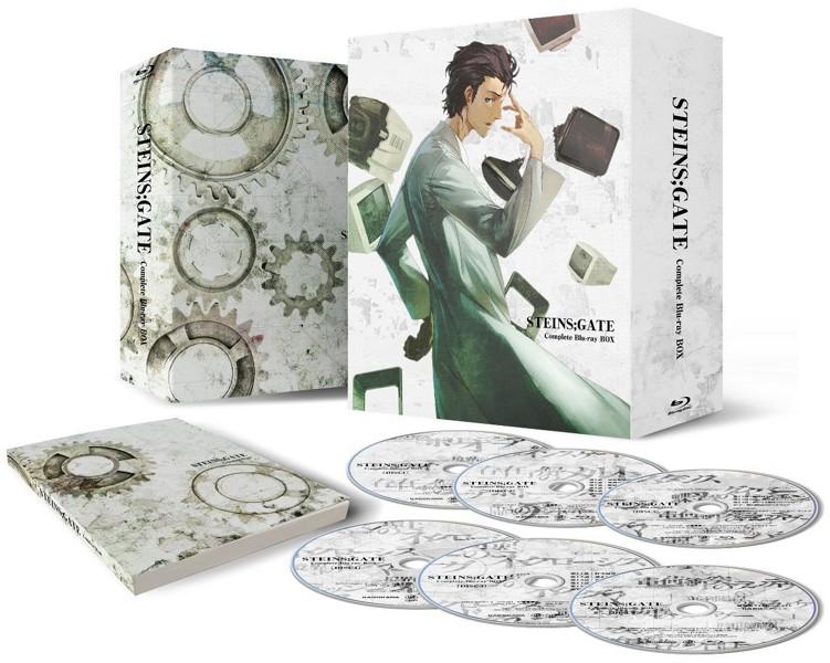 STEINS;GATE コンプリート Blu-ray BOX(期間限定生産 ブルーレイディスク)