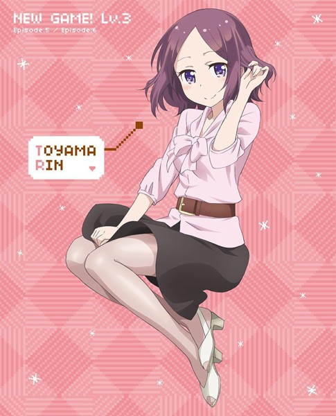 NEW GAME! Lv.3